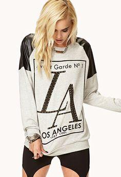 Avant Garde LA Sweatshirt | FOREVER21 - 2076930561