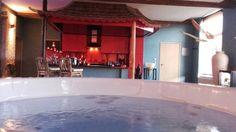 Un loft de 265m2 pour 2 avec jacuzzi, sauna, ciel de pluie, feu, aquarium et rivière !