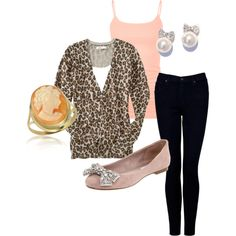 Everyday Girlie outfit I made on Polyvore!