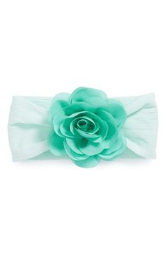 Baby Bling Chiffon Rose Headband (Baby Girls) available at #Nordstrom