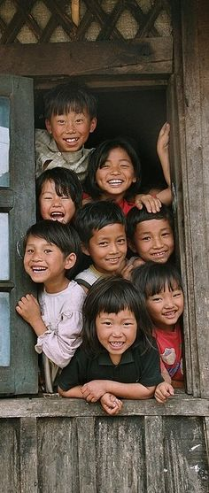 8 Smiling Children