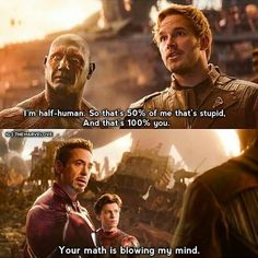 You are watching the movie Avengers: Infinity War on Putlocker HD. As the Avengers and their allies have continued to protect the world from threats too large for any one hero to handle, a new danger has emerged from the cosmic Marvel Jokes, Marvel Dc Comics, Marvel Avengers, Wanda Marvel, Funny Marvel Memes, Dc Memes, Avengers Memes, Marvel Fan, Marvel Heroes