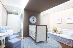 modern nursery for baby boy