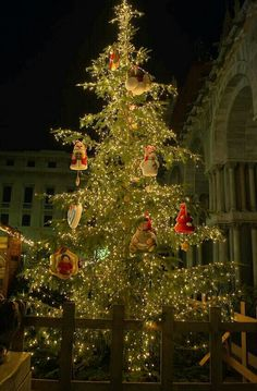Natale in piazza San Marco, Venice, Italy