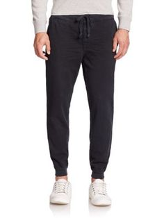 Ralph Lauren Tapered Fit Cotton Lounge Pants | Clothing