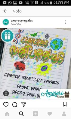 Notebook, Bullet Journal, Map, Lettering, Crafts, Ideas, Education Posters, Calligraphy, Manualidades