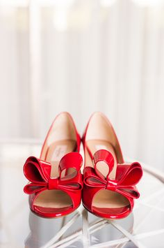 Red Valentino with bows