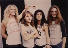Metallica was so cute when they were young.