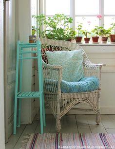 Elämää pohjolassa Outdoor Furniture Sets, Outdoor Decor, Conservatory, Porch, Armchair, Home Decor, Balcony, Sofa Chair, Single Sofa