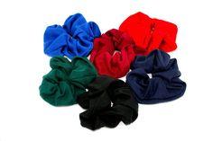 Jersey Fabric Scrunchie Navy-Tegen Accessories-Tegen Accessories  - 1