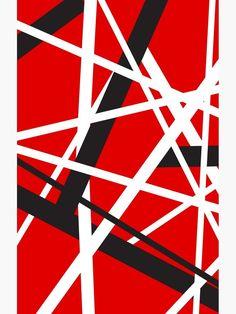 Baseball Wallpaper, Striped Wallpaper, Van Halen 5150, Guitar Patterns, Rock Poster, Eddie Van Halen, Guitar Collection, Boogie Woogie, Simple Wallpapers