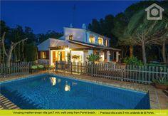 1300 euro  Geniet van je Villa vakantie in Portet, el, Moraira. Is het niet helemaal wat je zoekt, bel ons dan en onze afdeling reserveringen zal voor je op zoek gaan - Ref: 158529