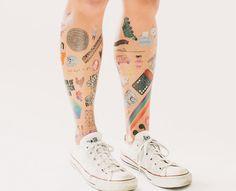 Tatuajes temporales Tattly, tattoos muy reales