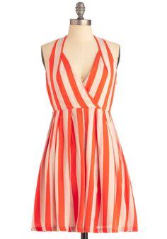 Old Orchard Beach Dress- Mod Cloth. Cute Summer Dresses, Cute Dresses, Vintage Dresses, Short Dresses, Dress Summer, Old Orchard Beach, Orange Dress, White Dress, Mod Dress
