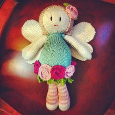Fairy Knitted doll