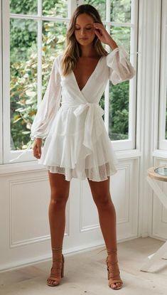 Summer Dress Bohemian Mini Beach Dress homecoming dresses - Summer Outfits for Work Vegas Outfits, Hot Outfits, Fashion Outfits, Casual Outfits, Womens Fashion, Fashion Trends, Grad Dresses, Homecoming Dresses, Cute Dresses