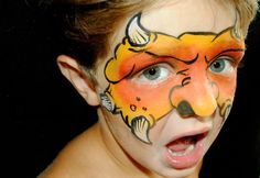 Awesome face painting! My friend, Dawn, is so talented!!