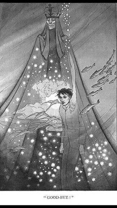 "1906 Sidney Sime illustration from Lord Dunsany's ""The Gods of Pegana""."