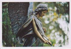 The Angel Sculpture by floquilter