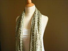 Itanos Summer Scarf Crochet Pattern