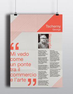 Tscherny George by alice fattore, via Behance