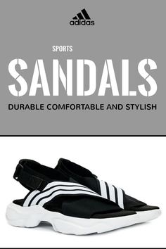#sponsored #ad Durable, Comfortable and Stylish ☝ SHOP ☝ Women's Magmur Stretch Sport Sandals ☝ adidas sandals, adidas sandals women, womens sports sandals #sandals #footwearforwomen