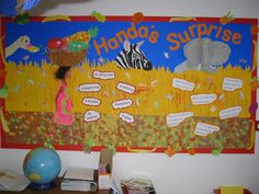 Handa's Surprise story prompts display - one of my all time most popular display photos!