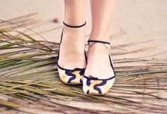 Add and ankle strap to your flats for an instant pizazz!