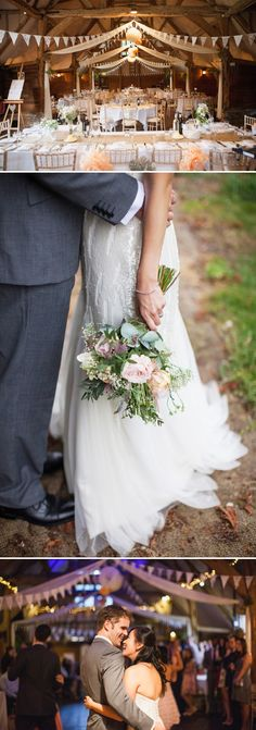 A Fun And Pretty English Garden Wedding At Lains Barn In Oxford With A Stephanie Allin Hayworth Dress And A Peony Bouquet By Hayley Savage P...