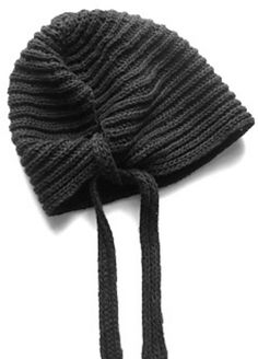 knitnscribble: Knit one cute hat in brioche stitch