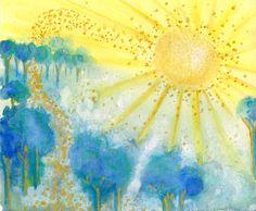 Great Sun by Deborah Mores Art