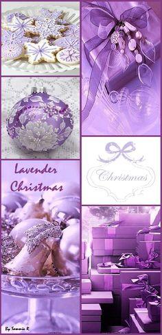 Lavender Christmas By Sammie R