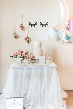 Pink floral first birthday | First birthday ideas | 100 Layer Cakelet