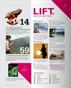 Maruba Magazine: Lift Magazine Editie #05 2011 | Futurumshop.nl