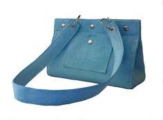 Blue PurseBlue Handbag Blue Shoulder Bag Summer by SaracinoDesigns Summer Purses, Summer Handbags, Blue Handbags, Blue Purse, Blue Bags, Blue Shoulder Bags, Bucket Bag, Diaper Bag, Totes