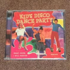 Kid's Disco Dance Party Dance Kid's Express (CD, Music, Children's, 2002) NEW #Disco