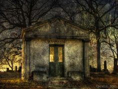 Dark Shadows.  The family crypt.