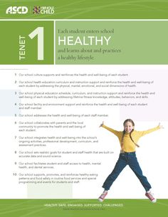 Whole Child Indicators for Healthy