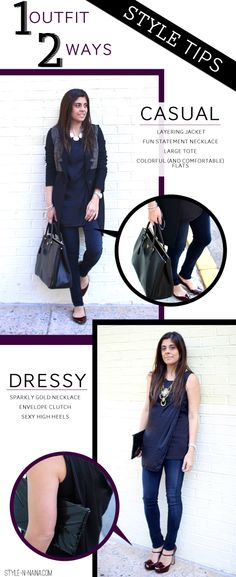 Naina Singla - fashion stylist and style expert - Blog - STYLE TIP  One  Outfit -Two Ways b4ae45fda0ee7