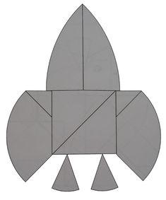 krokodil_tangram4 (500x601, 102Kb) Go Math, Kirigami, Egg As Food, Bag Accessories, Crocodile