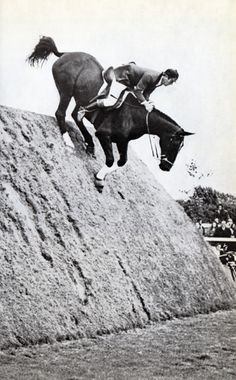David Broome on Beethoven in the Hickstead Derby 1970