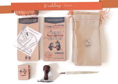 M&A // Wedding Invitations by Mariel Gutierrez Rucksi, via Behance