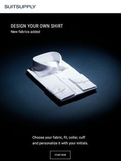 Design Your Own Shirt - Suitsupply