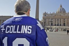 Toronto Archbishop Thomas Collins elevates Leafs to new heights. Hockey News, Toronto Maple Leafs, Vatican, Cardinals, Nhl, Rome, Interview, Blue And White, Thursday