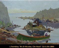 Original oil painting on canvas by Louis Tremblay Canadian Artists, Quebec, Oil Painting On Canvas, 21st Century, Painters, Original Paintings, Landscape, Scenery, Quebec City