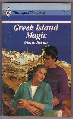 Greek Island Magic Harlequin Romance by Gloria Bevan Volume 2618