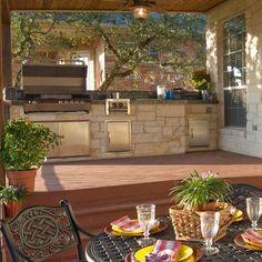 Outdoor Kitchen Decor Ideas 12