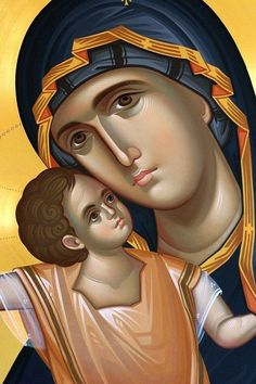 Orthodox Prayers to the MostHoly Glorious Lady Theotokos and Ever-Virgin Mary Religious Images, Religious Icons, Religious Art, Byzantine Icons, Byzantine Art, Architecture Religieuse, Orthodox Prayers, Religion Catolica, Russian Icons