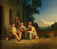 George Caleb Bingham, angariação de votação, 1851-1852