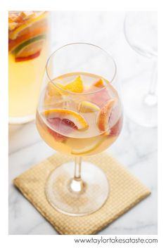 Blood Orange White Sangria! This is a great sangria for any event!
